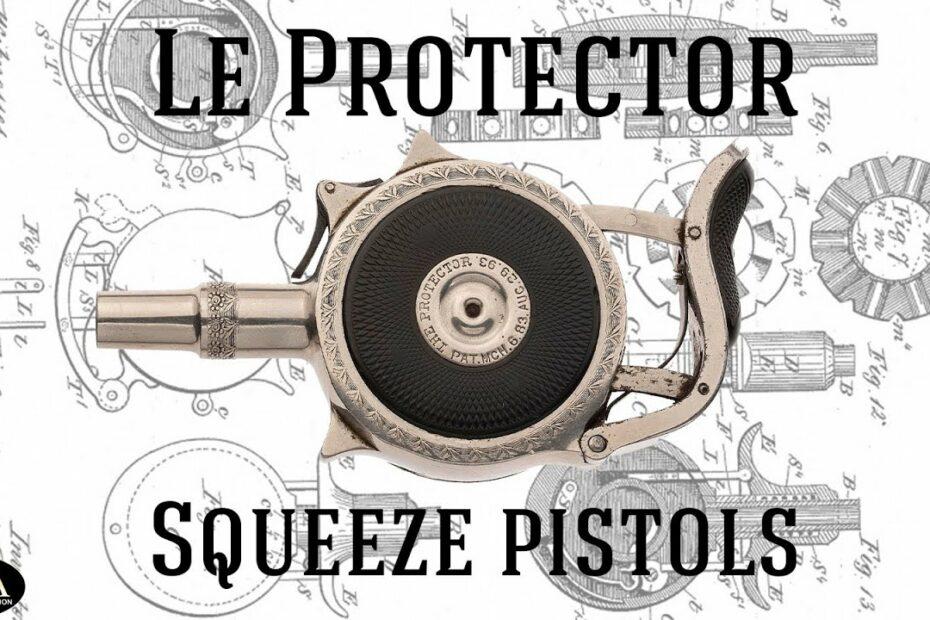 "Turbiaux Patent ""Protector"" Palm Pistols"