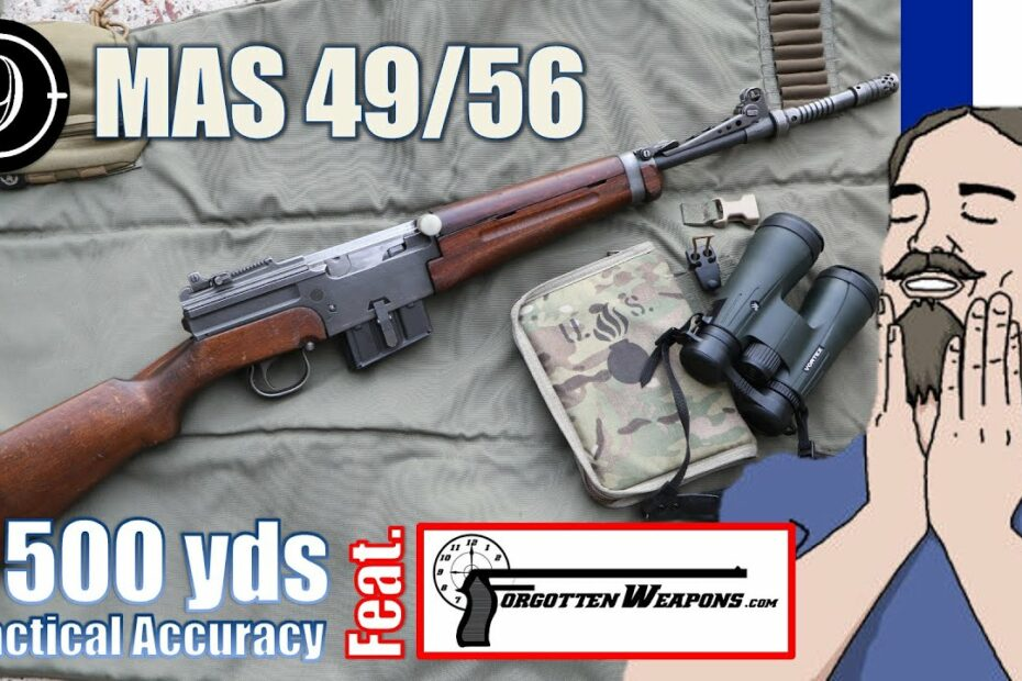 MAS 49/56 to 500yds: Practical Accuracy feat. Forgotten Weapons / Ian McCollum
