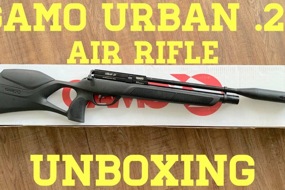 Unboxing the Gamo Urban .22 Air Rifle