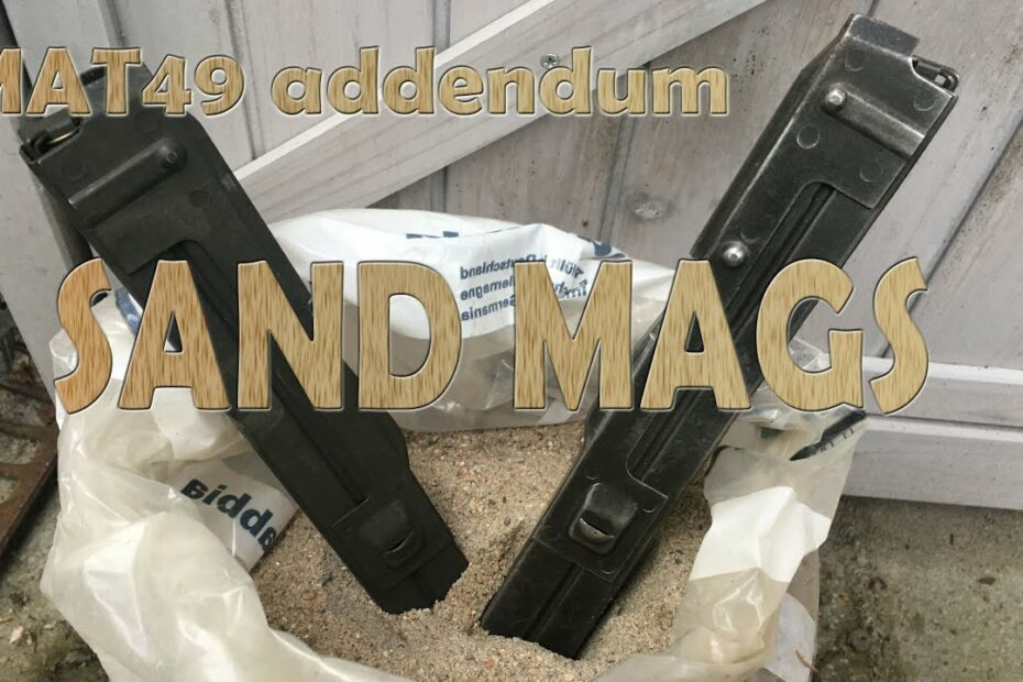 MAT 49 sand magazines for sandy places