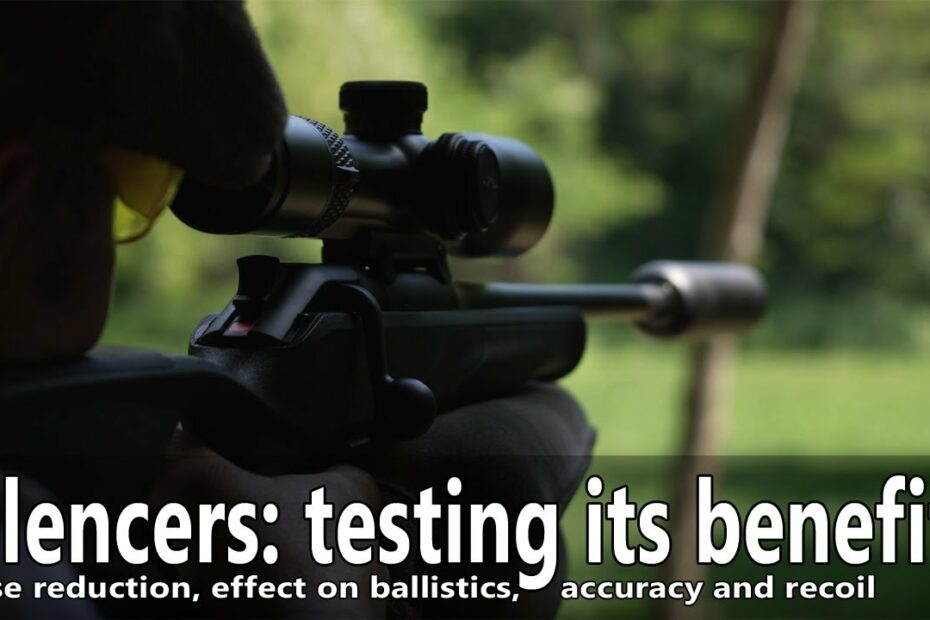 Effect of the silencer on accuracy, loudness, terminal ballistics and recoil