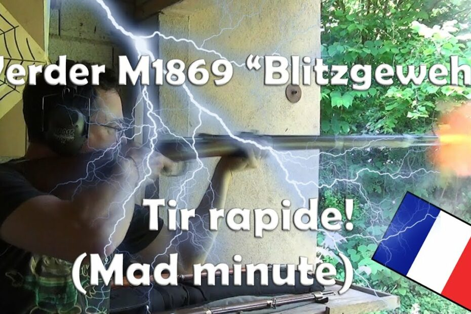 Tir rapide au fusil Werder M1869