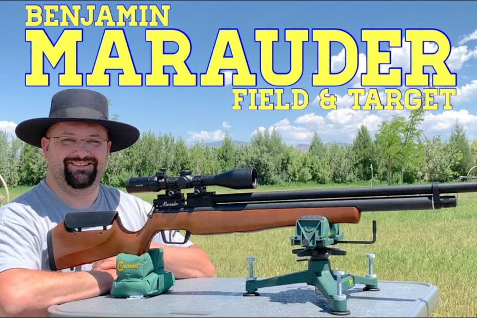 Benjamin Marauder: Field & Target in .22