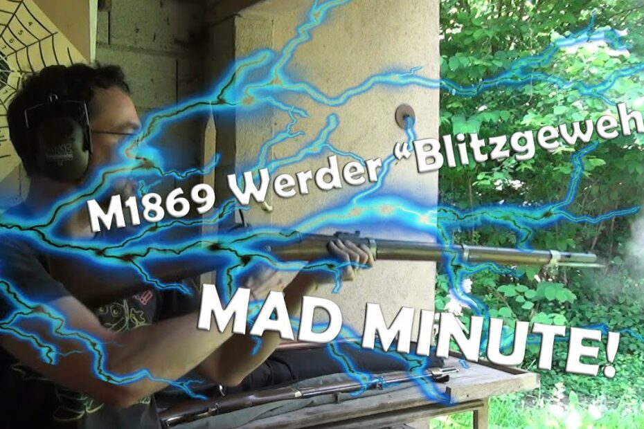 Mad minute with the Bavarian M1869 Werder rifle