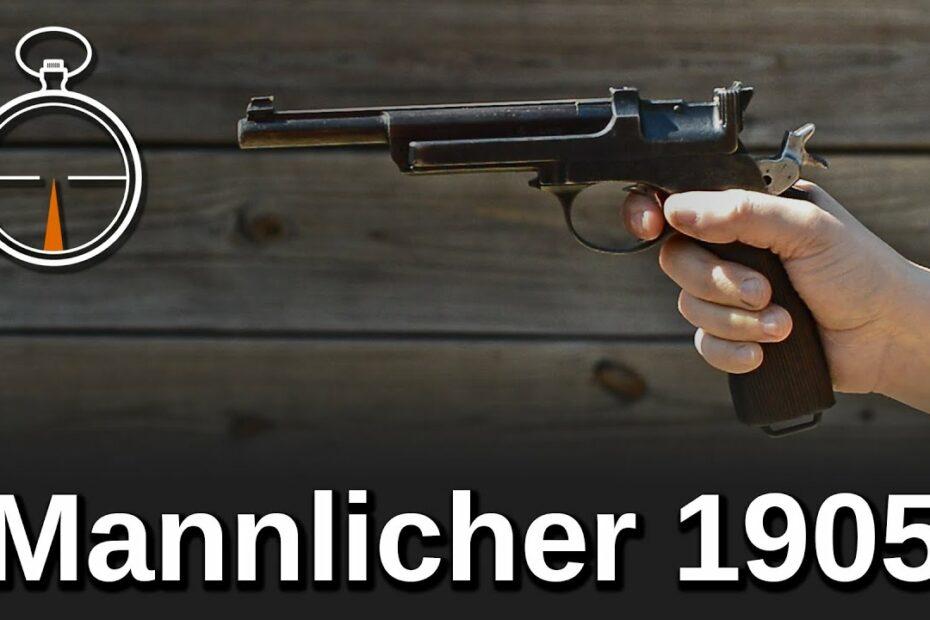 Minute of Mae: Mannlicher 1905