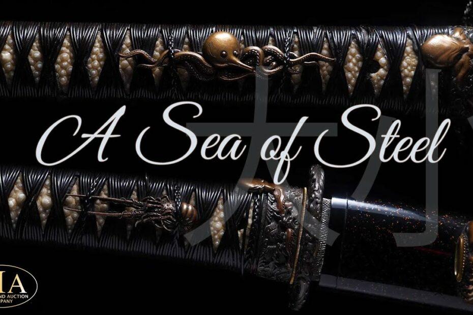 Aquatic Masterpiece Japanese Swords