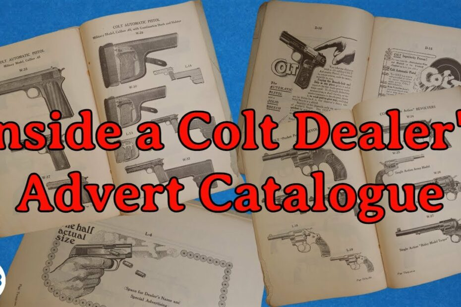 Old Gun Ads: How Did Colt Advertise Its Guns?