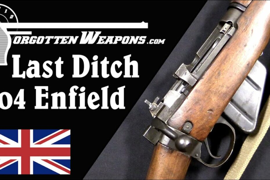 Britain's Last Ditch: Wartime Changes to No4 Lee Enfield