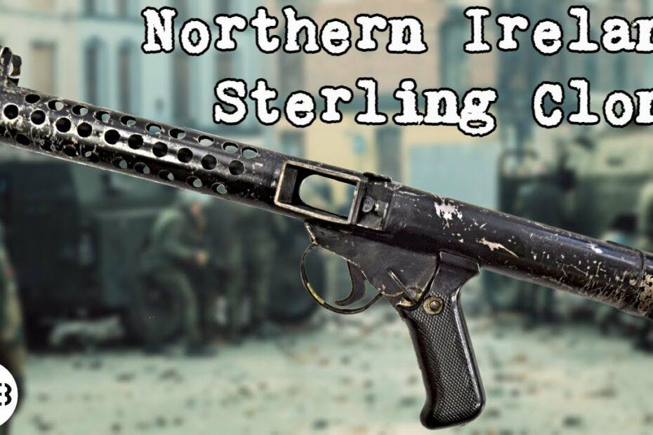 Northern Ireland Sterling Submachine Gun Copy