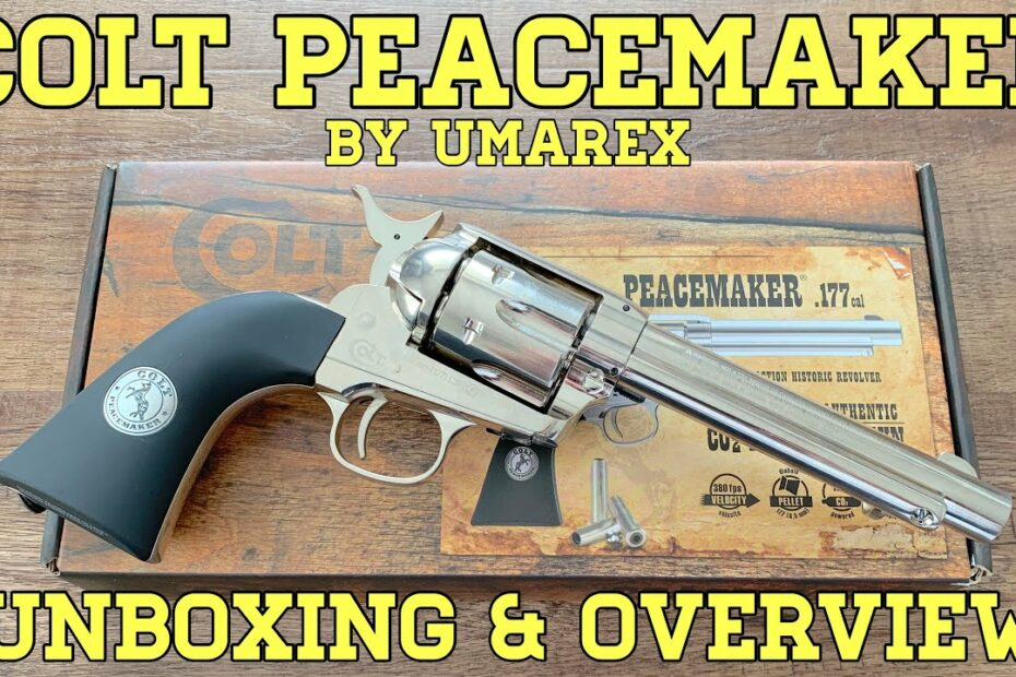 Colt Peacemaker by Umarex (Pellet Revolver): Unboxing and Overview