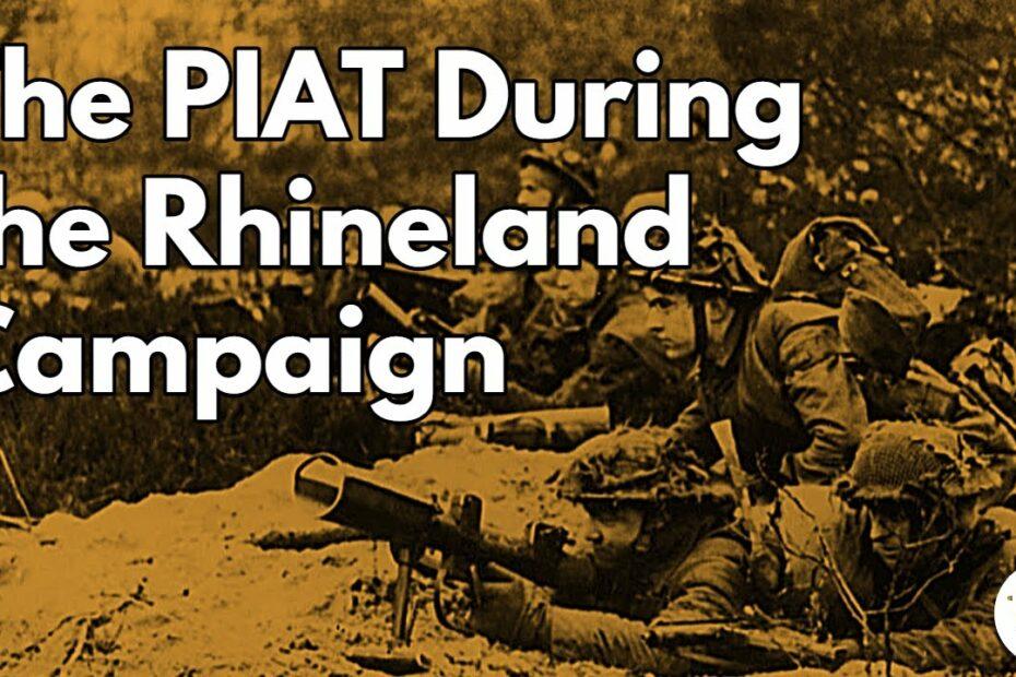 PIAT in the Rhineland
