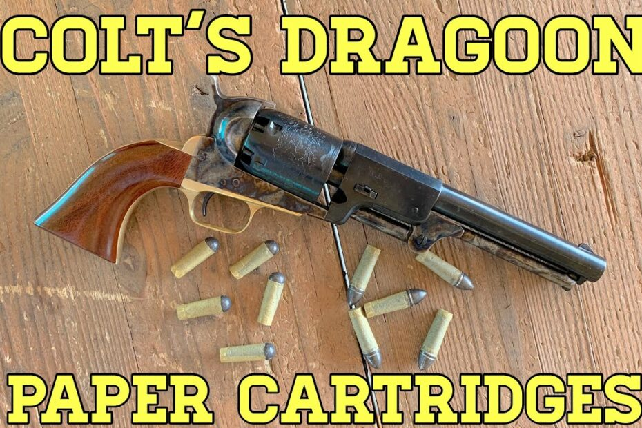 Colt's Dragoon: Shooting Paper Cartridges (And A Discount Code!)