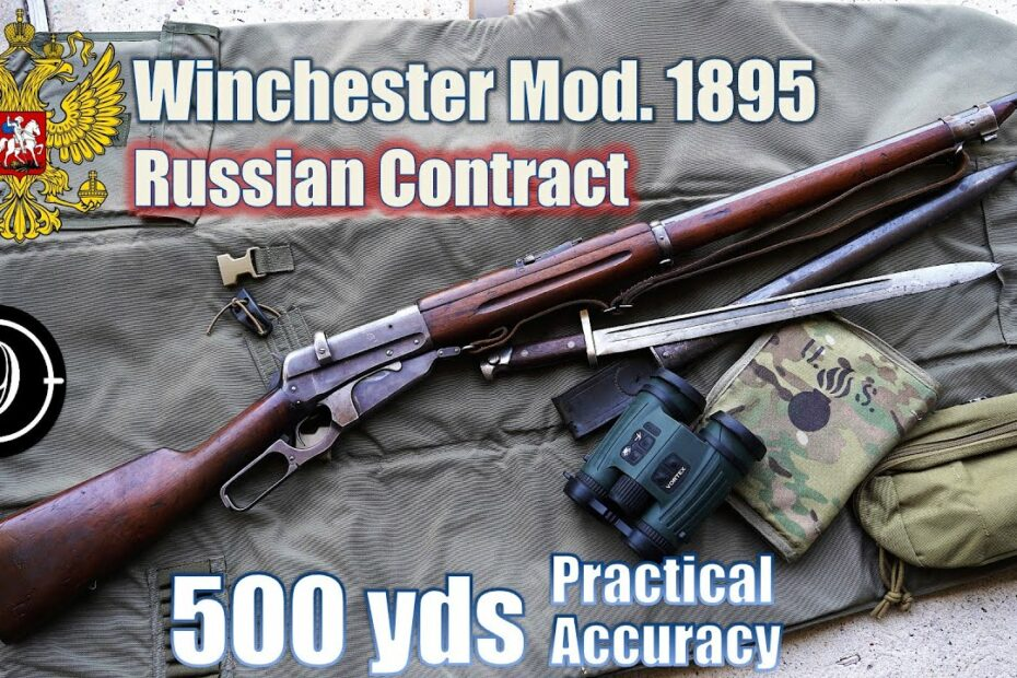 """Winchester 1895 [Russian Contract] to 500yds: Practical Accuracy with the """"Russian Cowboy"""""""