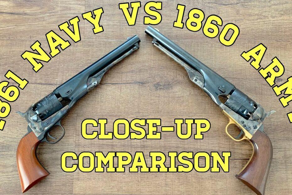 1861 Navy vs. 1860 Army