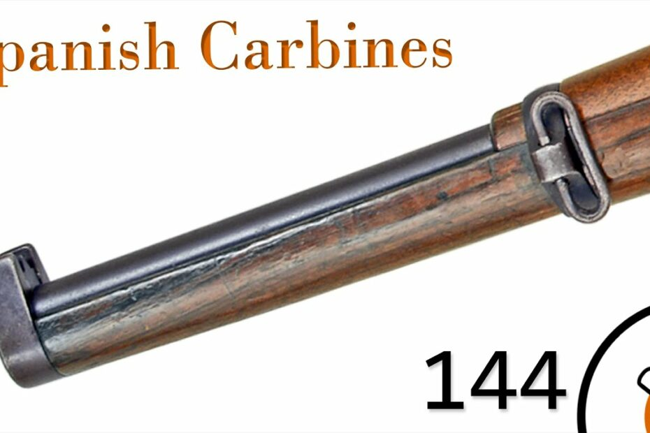Small Arms of WWI Primer 144:  Spanish Mauser Carbines