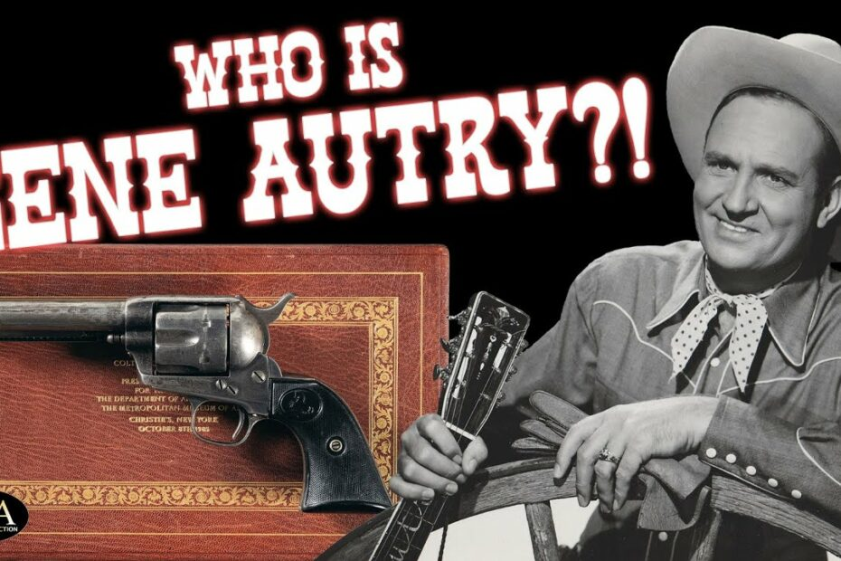 """The Colt of Gene Autry: """"The Singing Cowboy"""""""