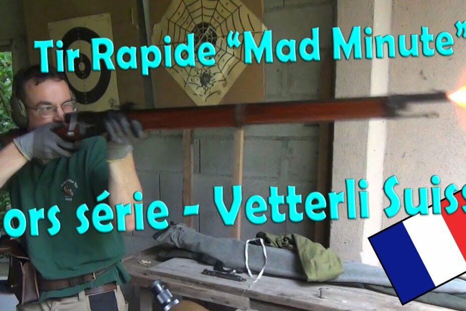 Tir rapide au fusil Vetterli (boo le tricheur!)