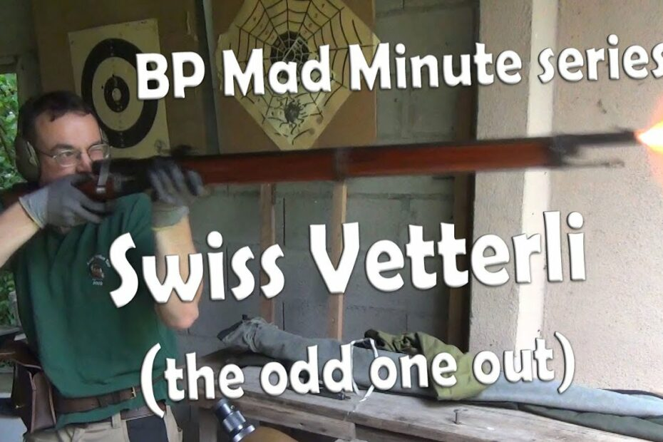 Vetterli Mad Minute – Yes it's cheating!