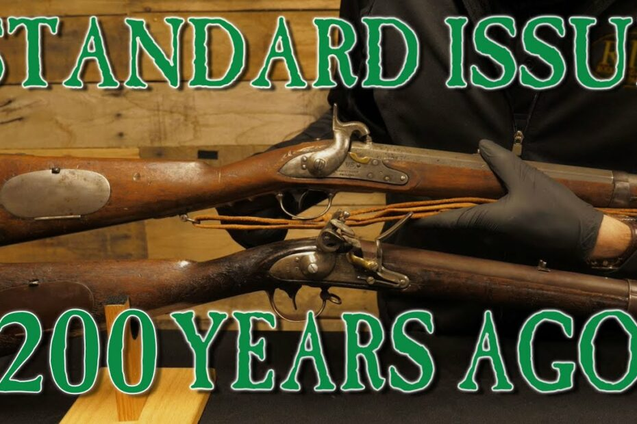 What Did Standard Issue Rifles Look Like 200 Years Ago?