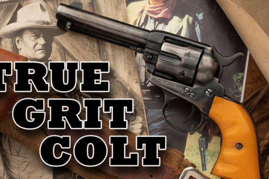 John Wayne's True Grit Colt Sells For…?